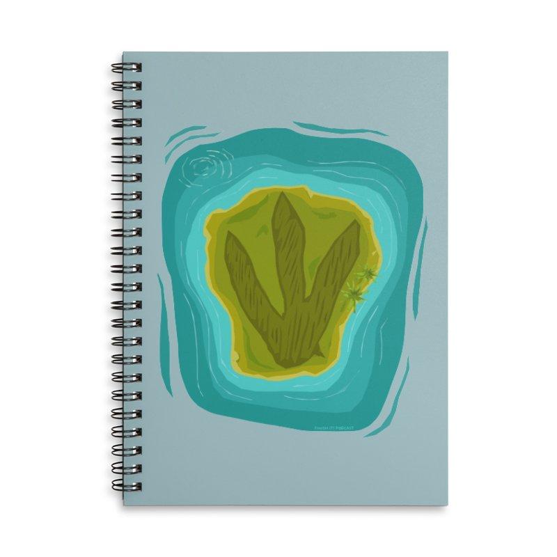 Dino Island Splashdown Accessories Notebook by Finish It! Podcast Merchzone