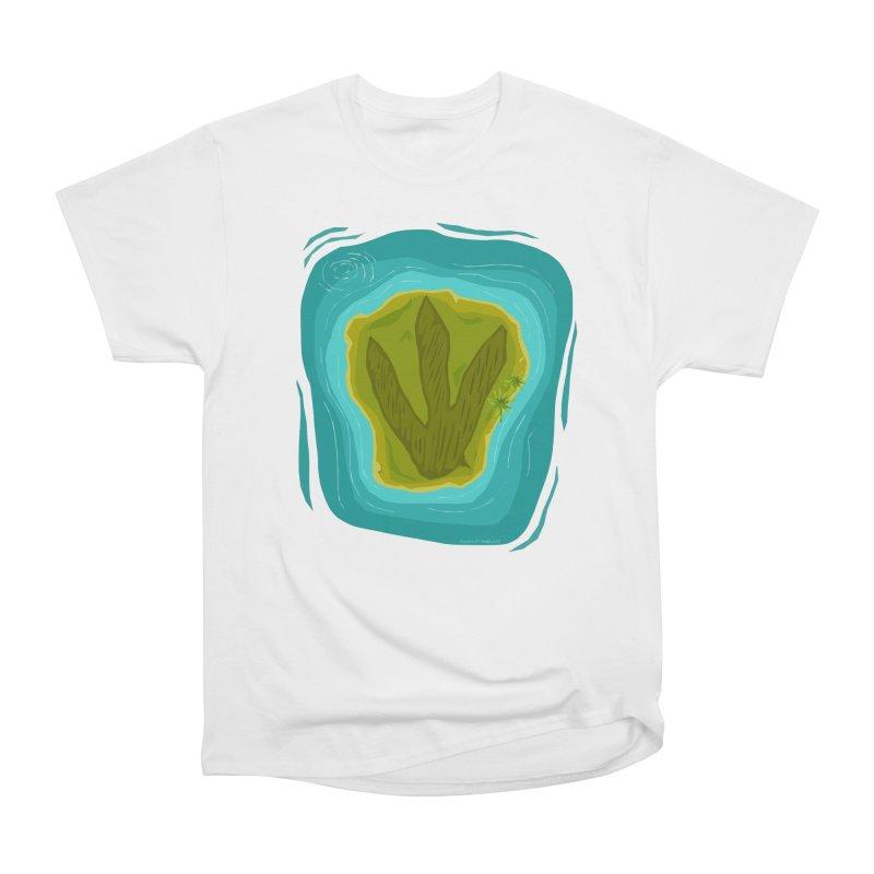 Dino Island Splashdown Women's T-Shirt by Finish It! Podcast Merchzone