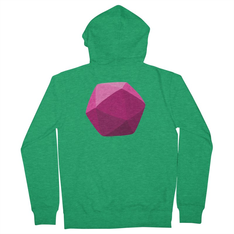 20 Sided Guy Men's Zip-Up Hoody by Finish It! Podcast Merchzone