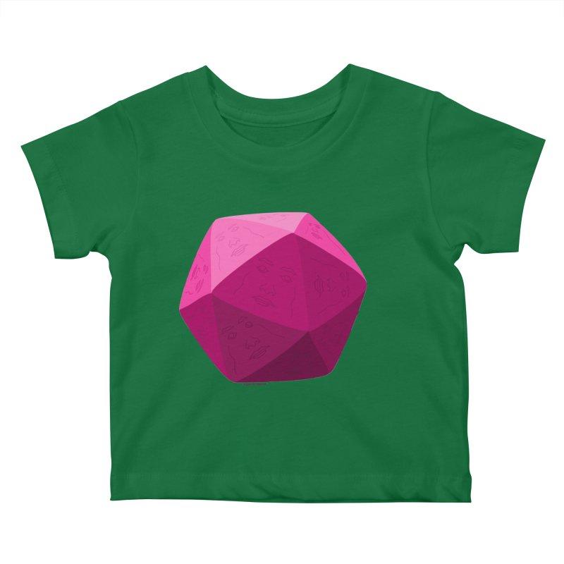 20 Sided Guy Kids Baby T-Shirt by Finish It! Podcast Merchzone