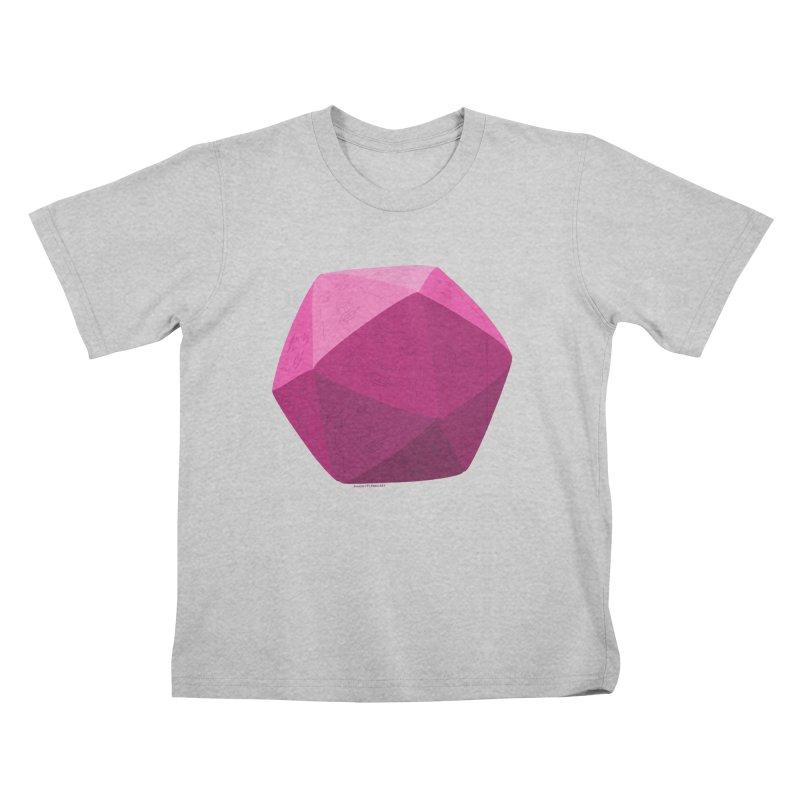 20 Sided Guy Kids T-Shirt by Finish It! Podcast Merchzone