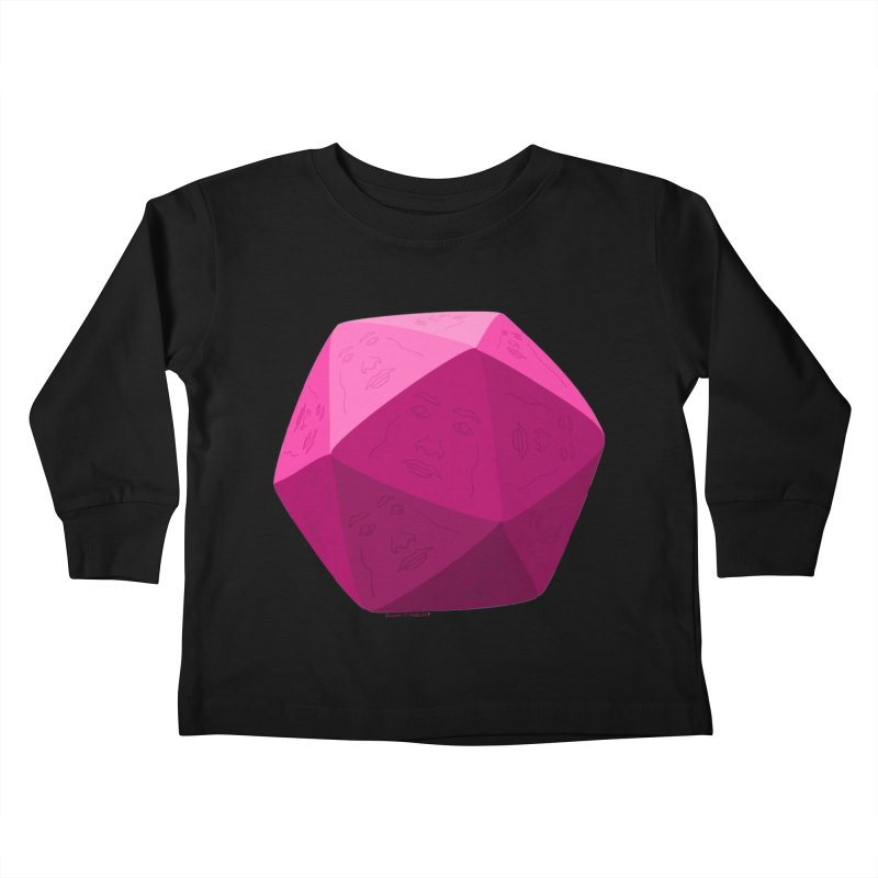 20 Sided Guy Kids Toddler Longsleeve T-Shirt by Finish It! Podcast Merchzone