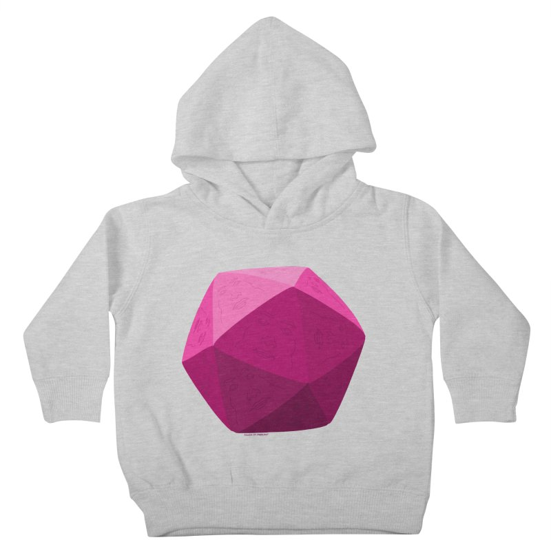 20 Sided Guy Kids Toddler Pullover Hoody by Finish It! Podcast Merchzone
