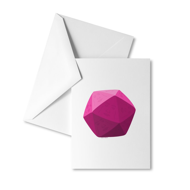 20 Sided Guy Accessories Greeting Card by Finish It! Podcast Merchzone