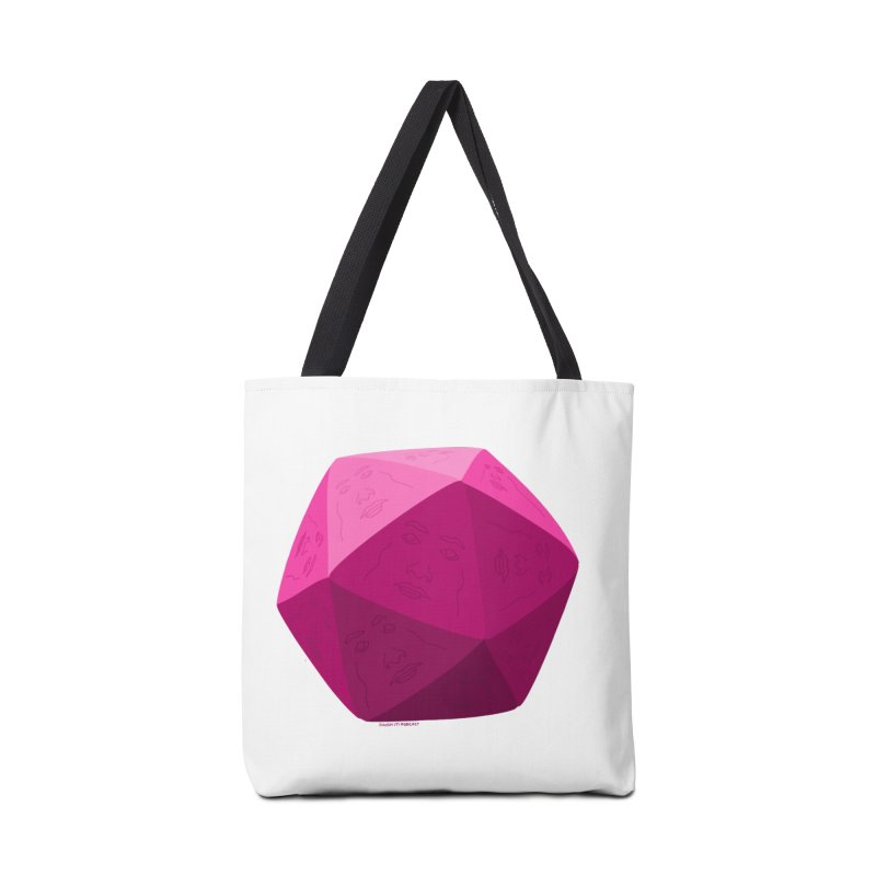 20 Sided Guy Accessories Bag by Finish It! Podcast Merchzone