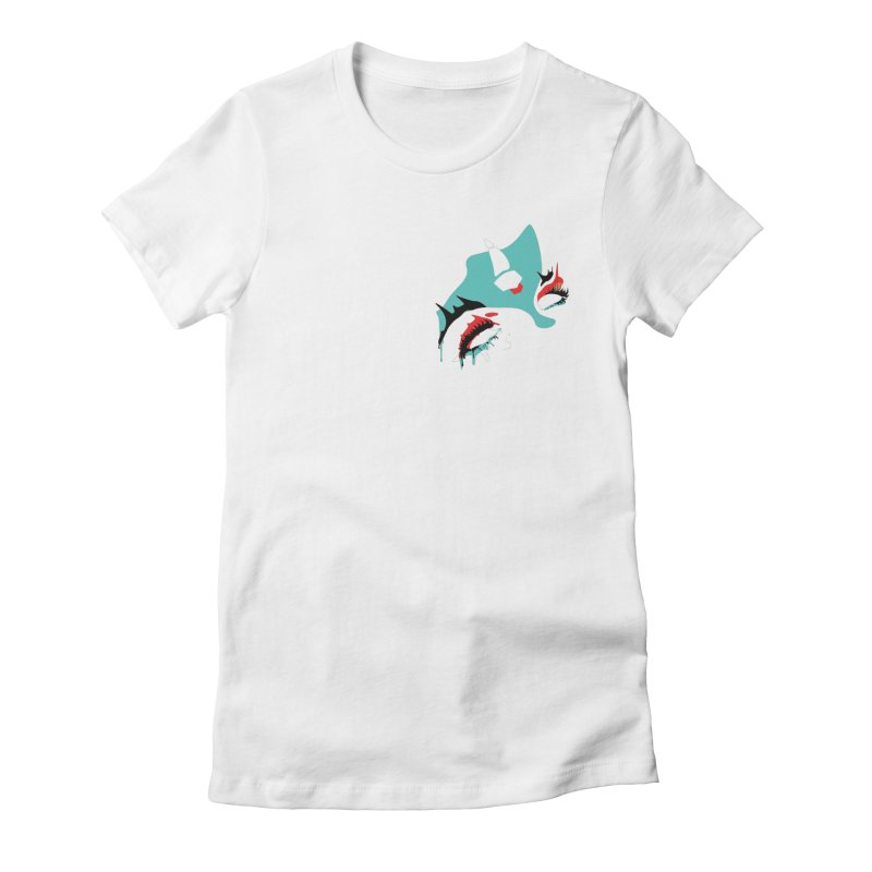 I Can See Forever Women's Fitted T-Shirt by finishyourmeal's Artist Shop