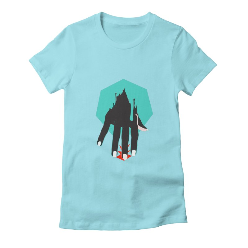 Exodus Women's Fitted T-Shirt by finishyourmeal's Artist Shop