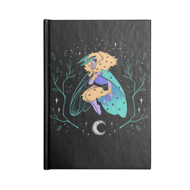 Non-binary Moth Warrior Accessories Notebook by finkenstein's Artist Shop