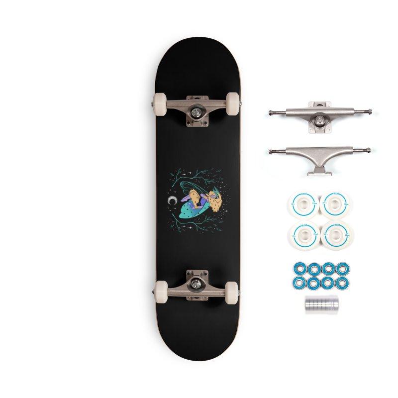 Non-binary Moth Warrior Accessories Skateboard by finkenstein's Artist Shop