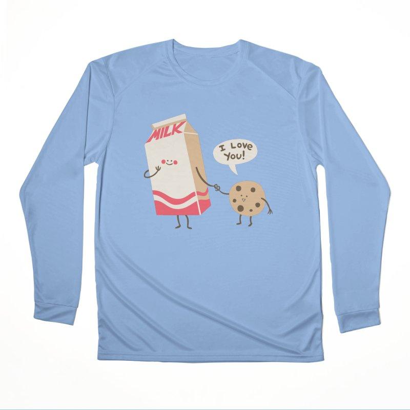 Cookie Loves Milk Women's Longsleeve T-Shirt by finkenstein's Artist Shop