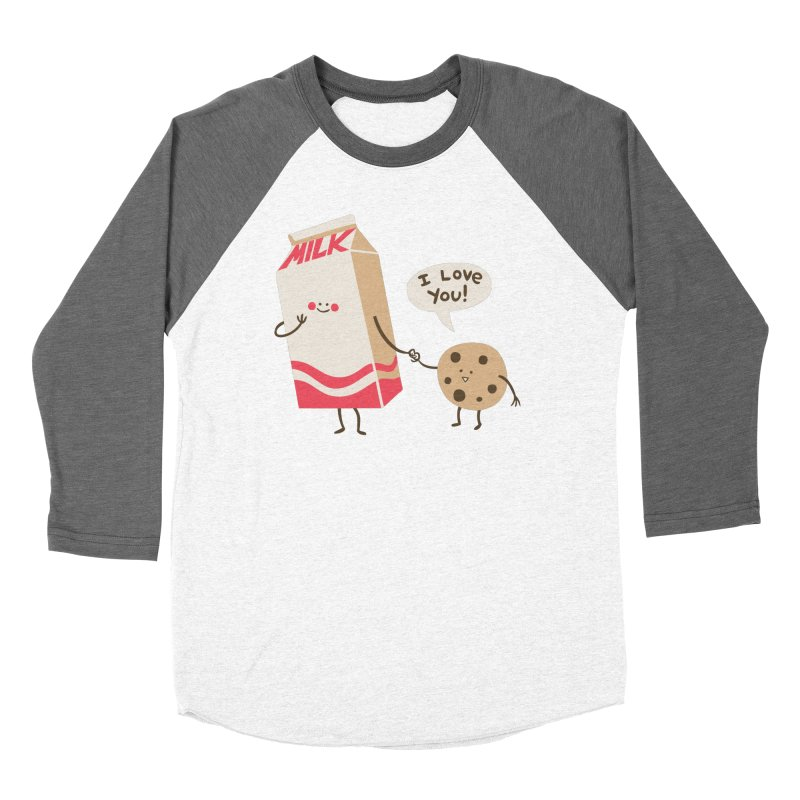 Cookie Loves Milk Women's Longsleeve T-Shirt by finkenstein's Artist Shop