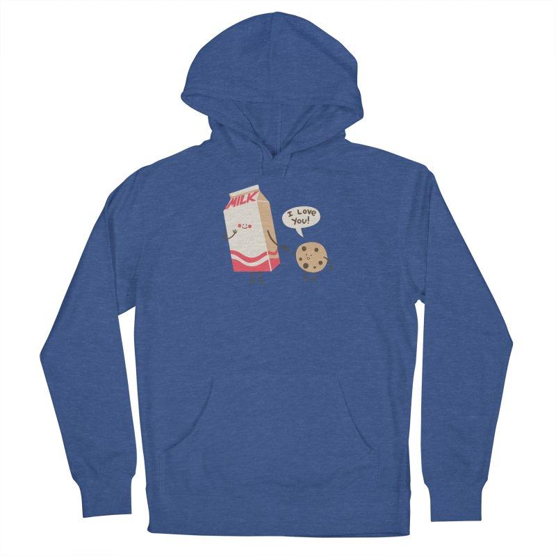 Cookie Loves Milk Men's Pullover Hoody by finkenstein's Artist Shop