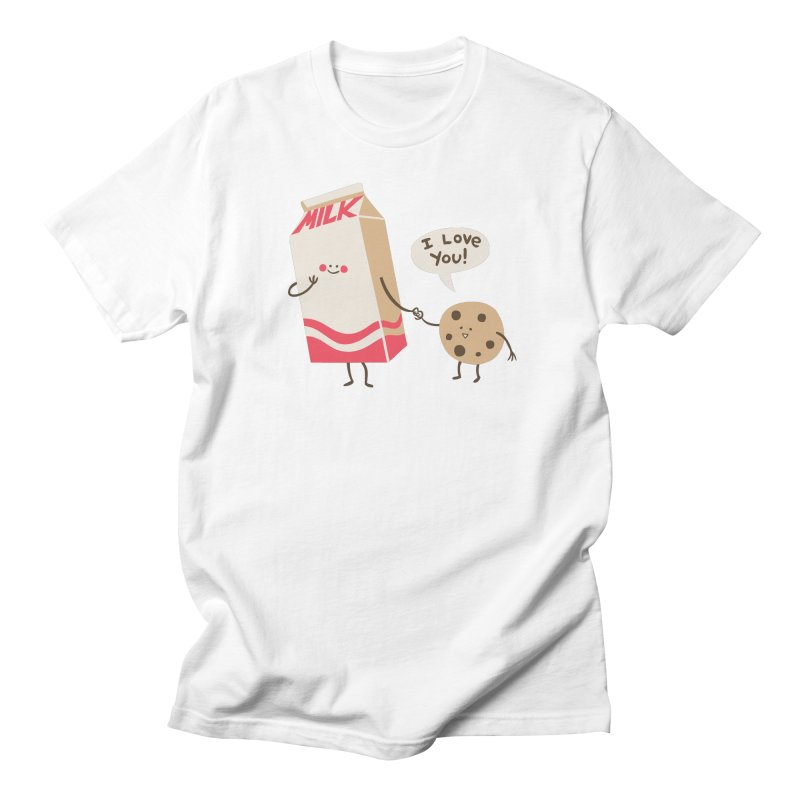 Cookie Loves Milk Women's T-Shirt by finkenstein's Artist Shop