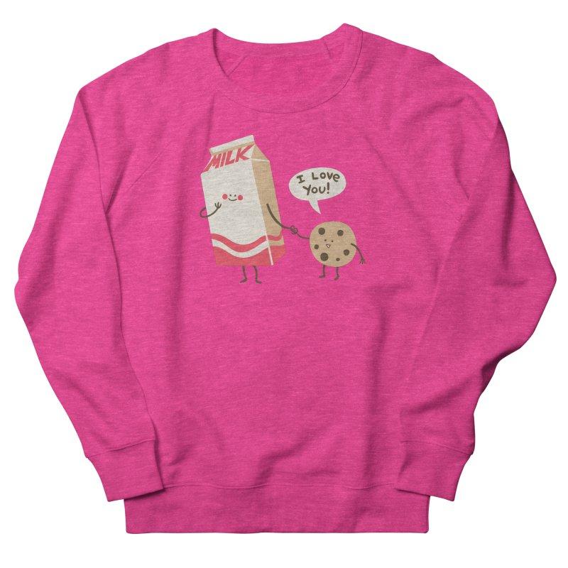 Cookie Loves Milk Women's Sweatshirt by finkenstein's Artist Shop