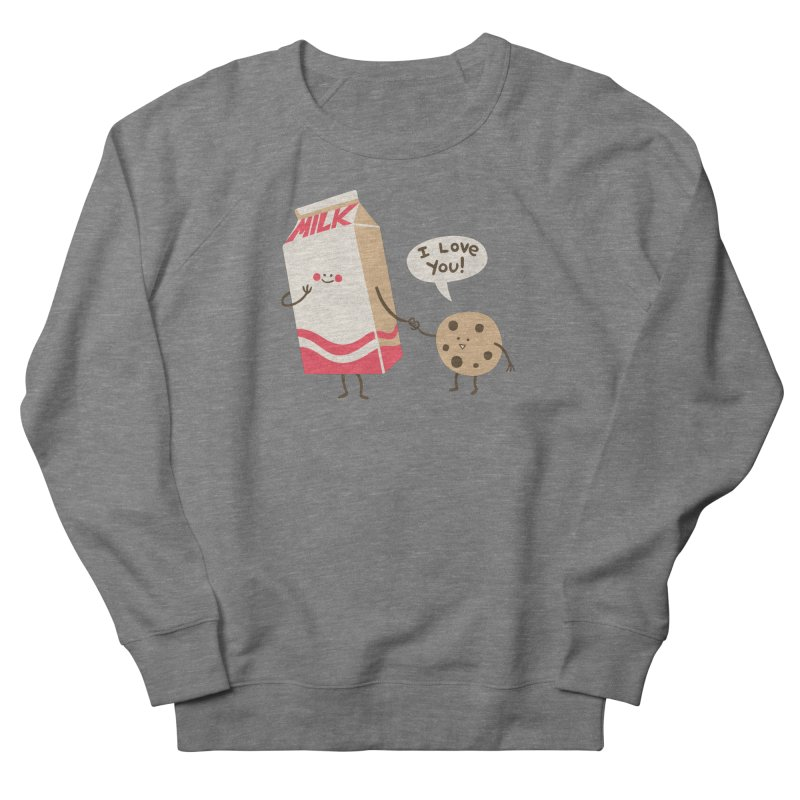 Cookie Loves Milk Men's French Terry Sweatshirt by finkenstein's Artist Shop