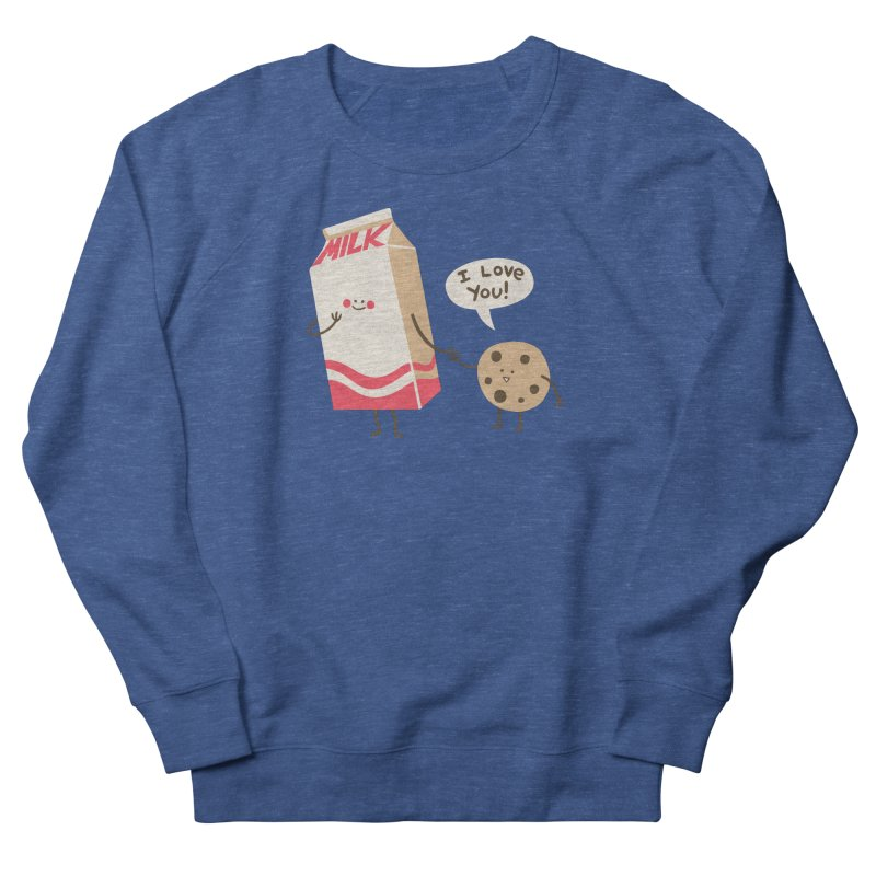 Cookie Loves Milk Men's Sweatshirt by finkenstein's Artist Shop