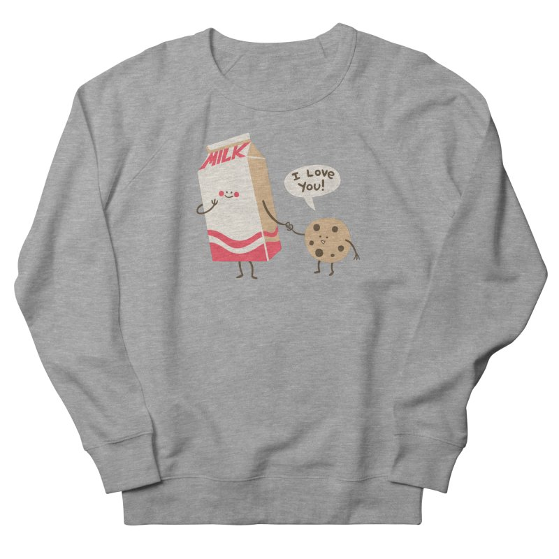 Cookie Loves Milk Men's Sweatshirt by finkenstein's Artist Shop