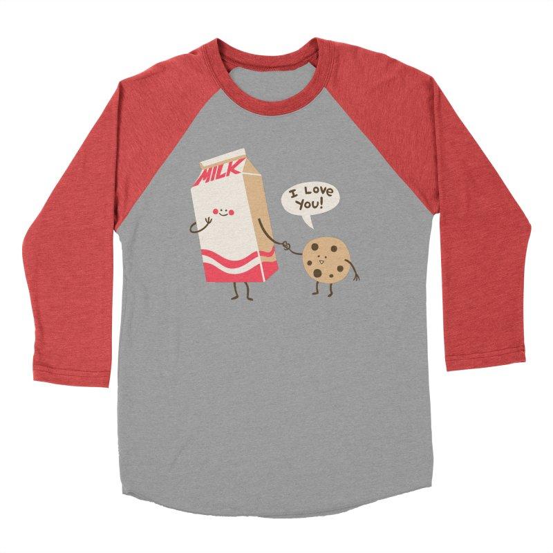 Cookie Loves Milk Men's Longsleeve T-Shirt by finkenstein's Artist Shop