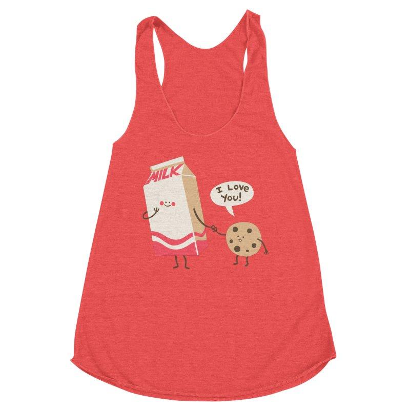 Cookie Loves Milk Women's Tank by finkenstein's Artist Shop