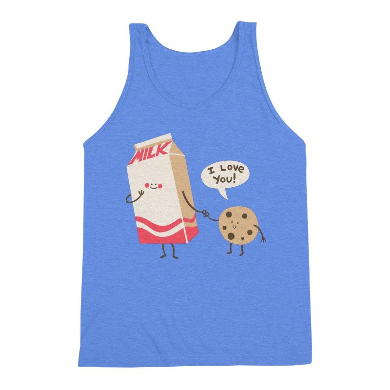 Cookie Loves Milk Men's Tank by finkenstein's Artist Shop