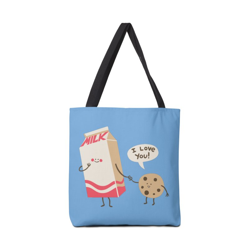 Cookie Loves Milk Accessories Bag by finkenstein's Artist Shop