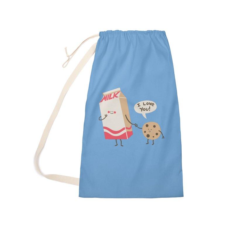 Cookie Loves Milk Accessories Bag by finkenstein's Artist Shop