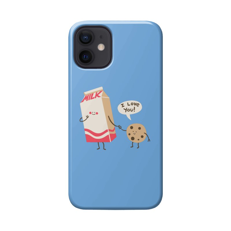 Cookie Loves Milk Accessories Phone Case by finkenstein's Artist Shop
