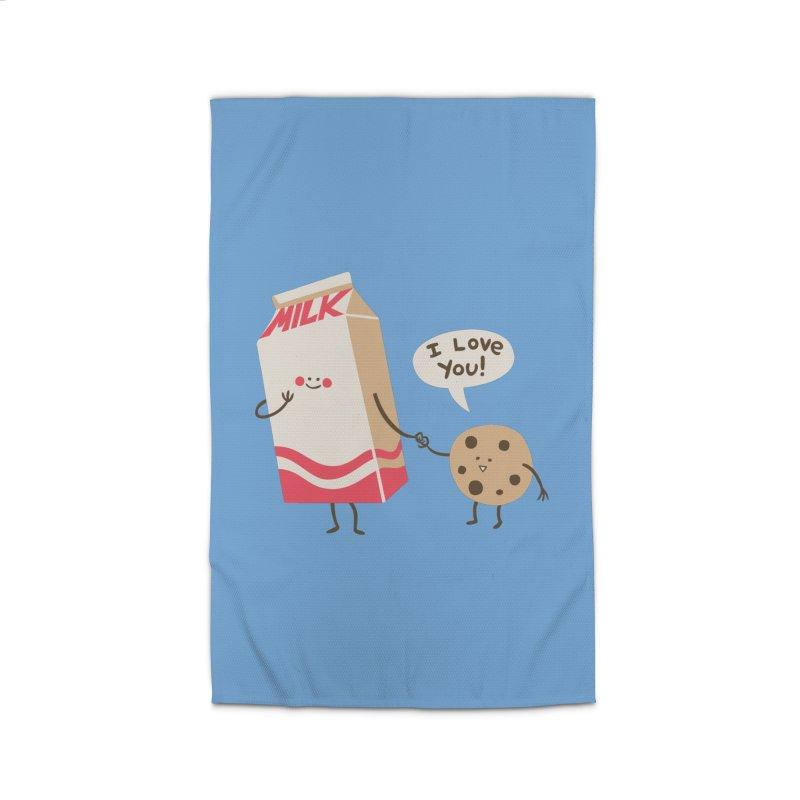 Cookie Loves Milk Home Rug by finkenstein's Artist Shop