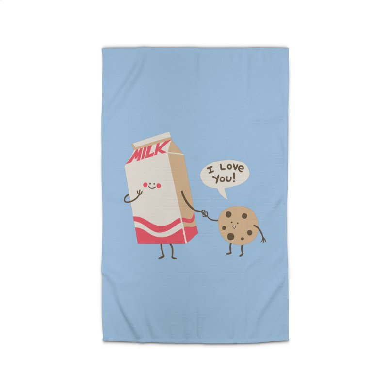 Cookie Loves Milk Home Rug by finkenstein's Artist Shop