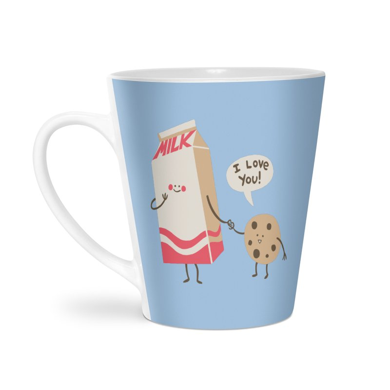 Cookie Loves Milk Accessories Mug by finkenstein's Artist Shop
