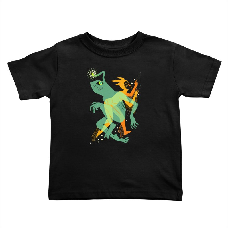 Loom and Essence Kids Toddler T-Shirt by finkenstein's Artist Shop