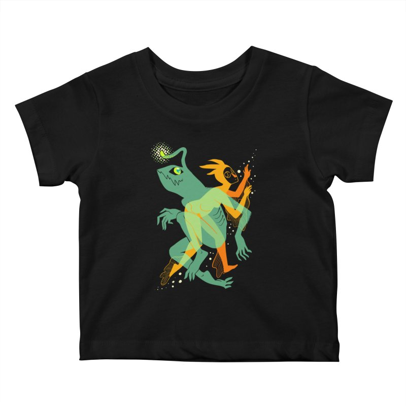 Loom and Essence Kids Baby T-Shirt by finkenstein's Artist Shop
