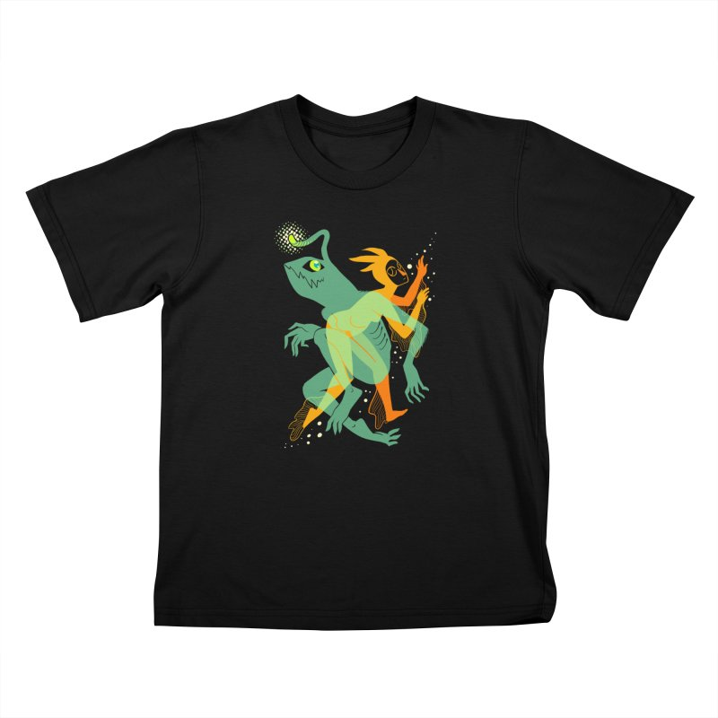 Loom and Essence Kids T-Shirt by finkenstein's Artist Shop