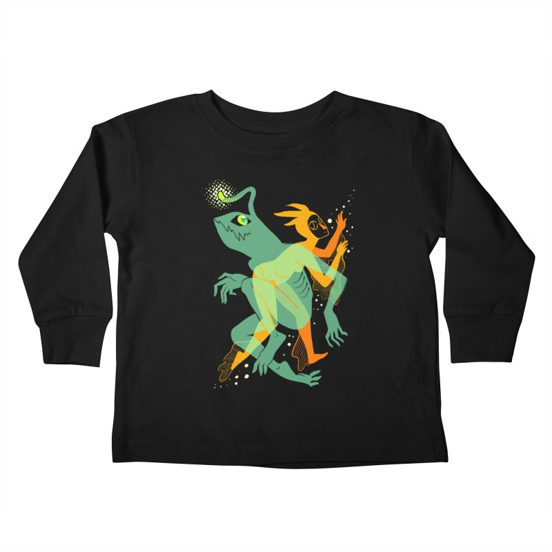 Loom and Essence Kids Toddler Longsleeve T-Shirt by finkenstein's Artist Shop