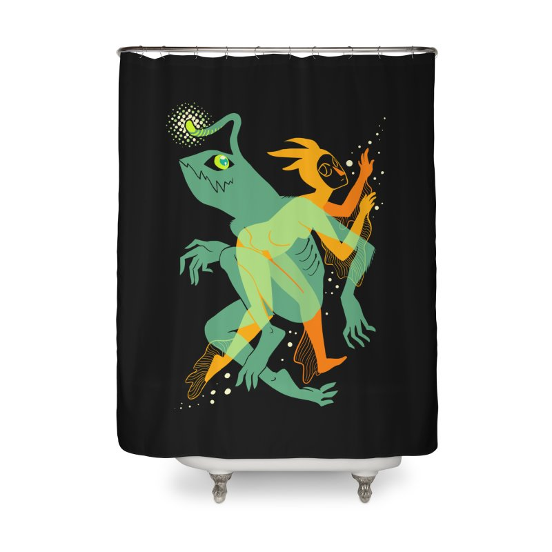 Loom and Essence Home Shower Curtain by finkenstein's Artist Shop