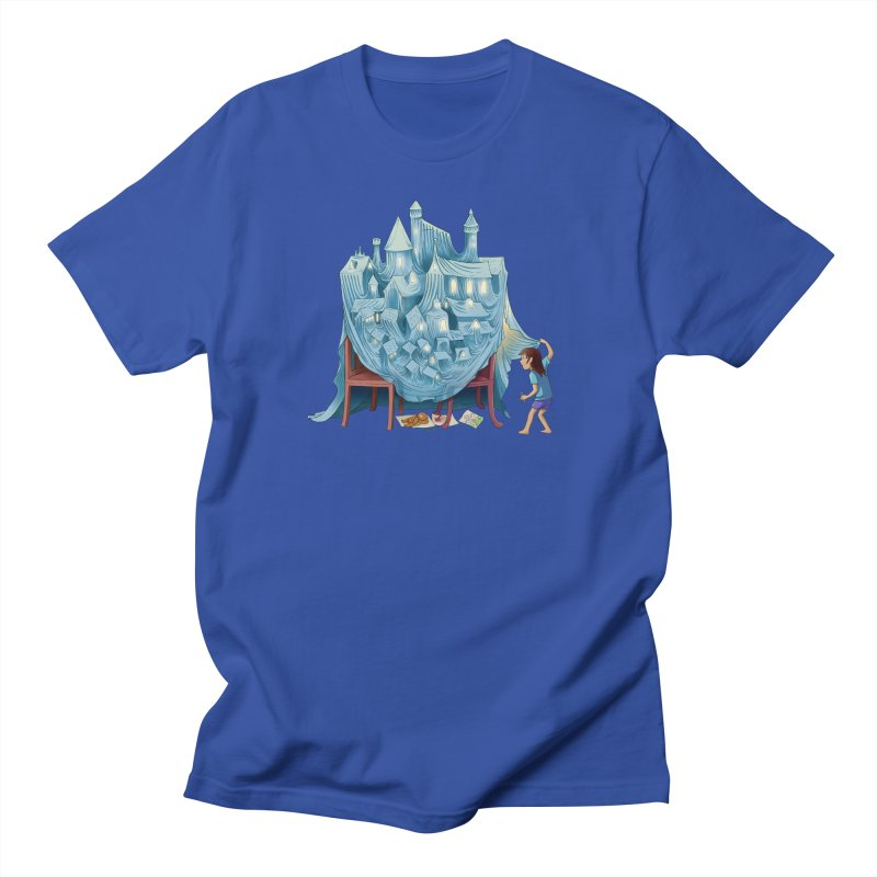 The Perfect Chair Fort Men's T-Shirt by finkenstein's Artist Shop
