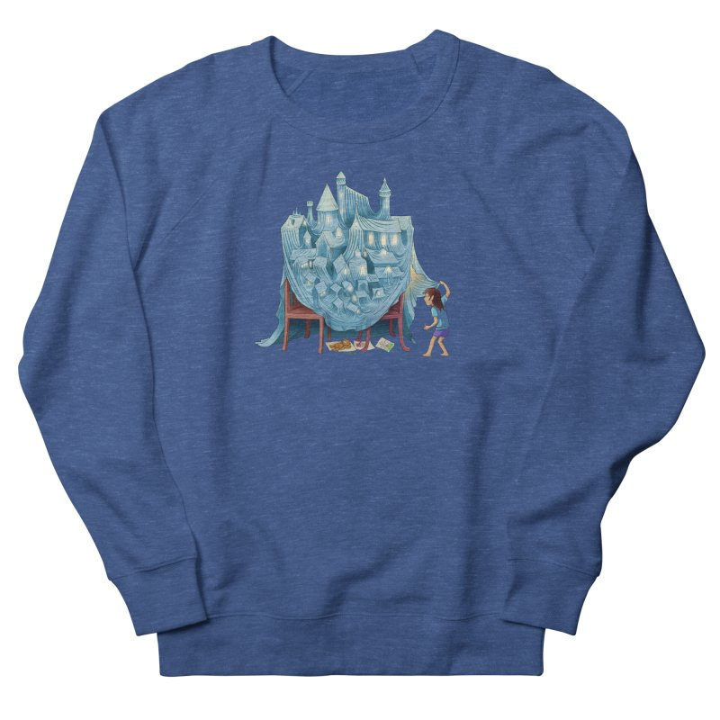 The Perfect Chair Fort Women's Sweatshirt by finkenstein's Artist Shop