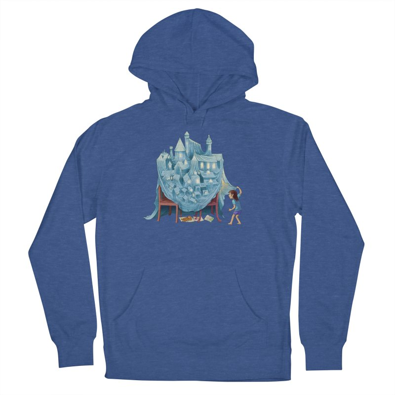 The Perfect Chair Fort Men's French Terry Pullover Hoody by finkenstein's Artist Shop