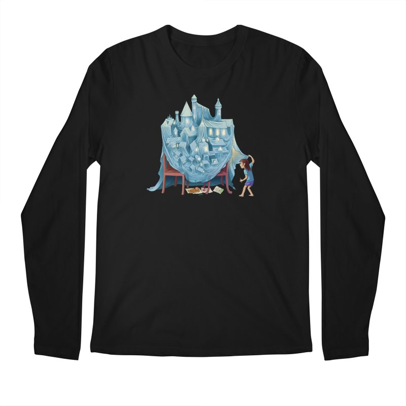 The Perfect Chair Fort Men's Regular Longsleeve T-Shirt by finkenstein's Artist Shop