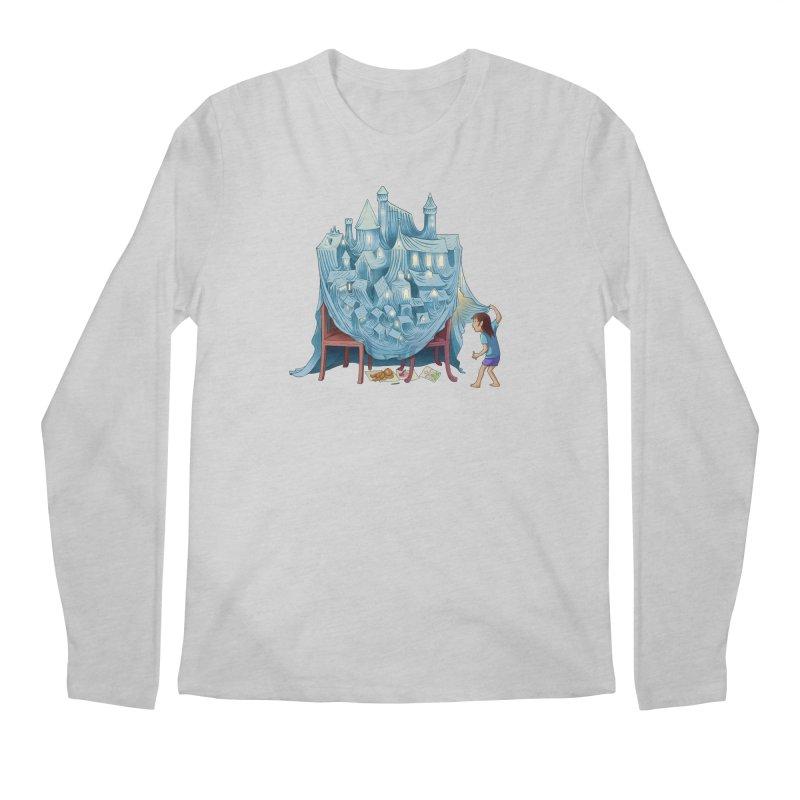 The Perfect Chair Fort Men's Longsleeve T-Shirt by finkenstein's Artist Shop