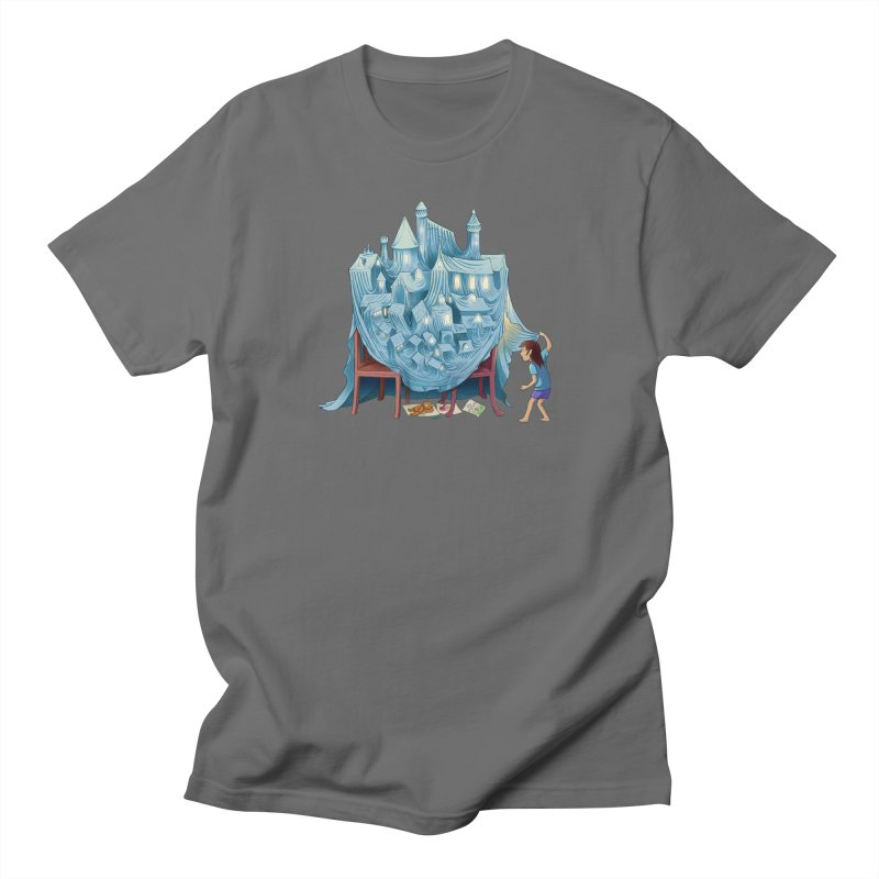 The Perfect Chair Fort Men's T-Shirt by finkenstein's Artist Shop