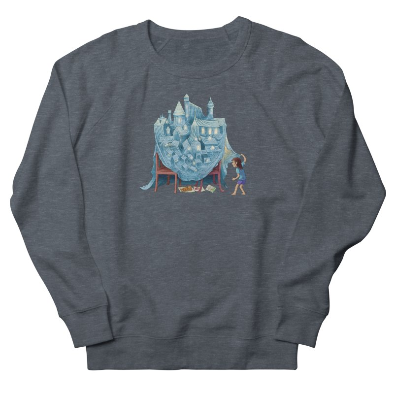 The Perfect Chair Fort Men's French Terry Sweatshirt by finkenstein's Artist Shop
