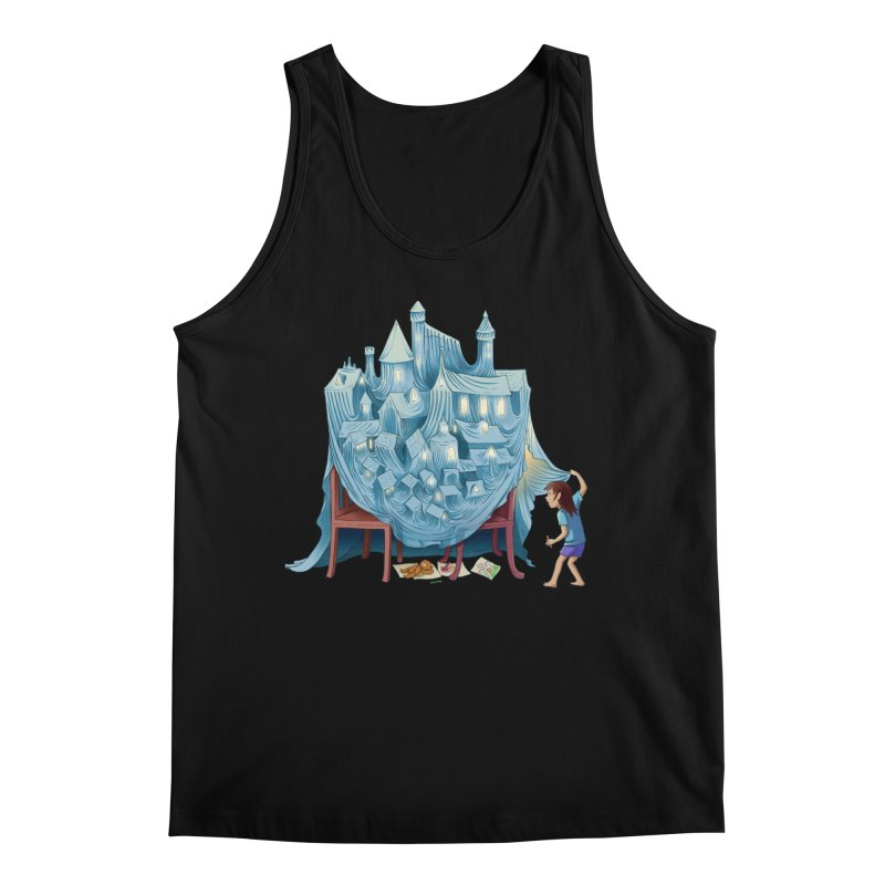 The Perfect Chair Fort Men's Regular Tank by finkenstein's Artist Shop
