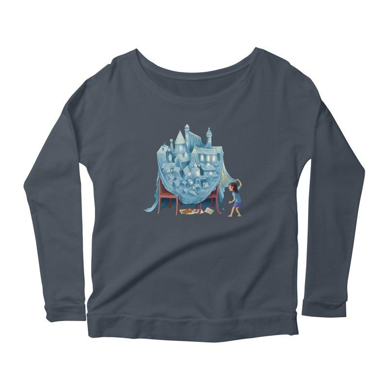 The Perfect Chair Fort Women's Longsleeve T-Shirt by finkenstein's Artist Shop