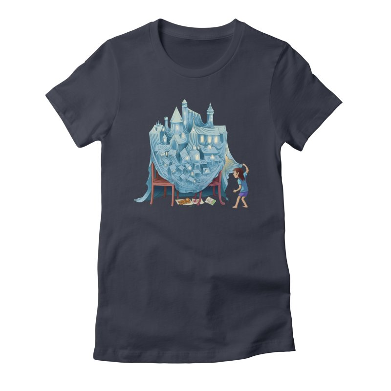 The Perfect Chair Fort Women's T-Shirt by finkenstein's Artist Shop