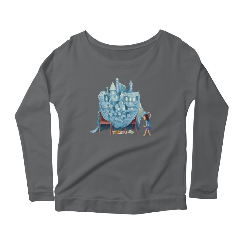 The Perfect Chair Fort Women's Longsleeve T-Shirt by finkenstein's Artist Shop