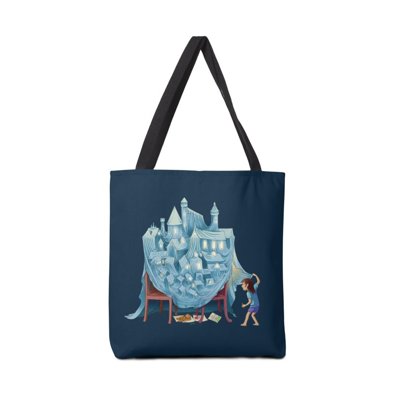 The Perfect Chair Fort Accessories Tote Bag Bag by finkenstein's Artist Shop