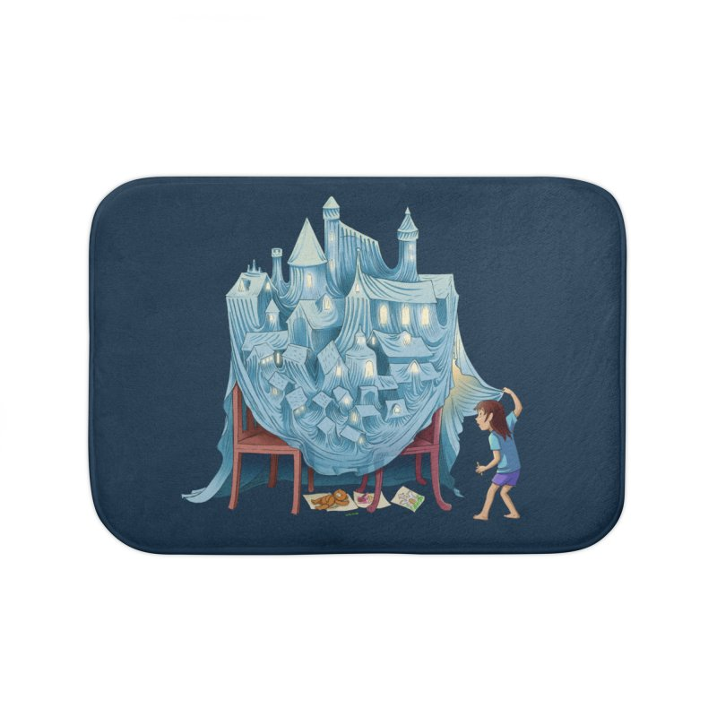 The Perfect Chair Fort Home Bath Mat by finkenstein's Artist Shop