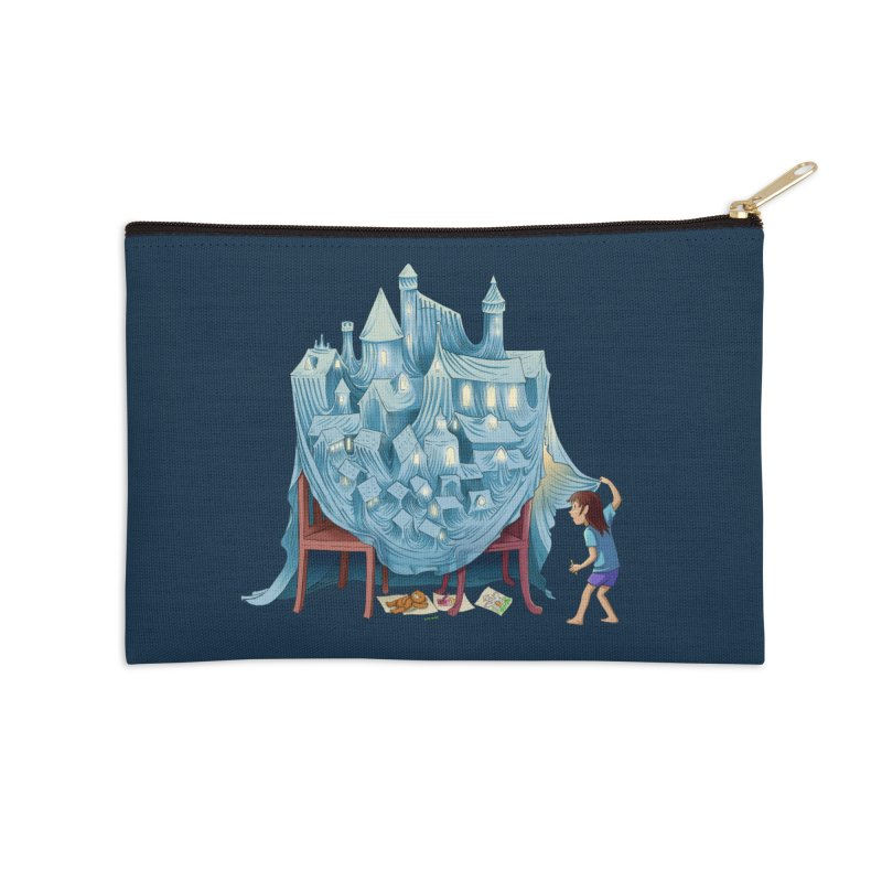 The Perfect Chair Fort Accessories Zip Pouch by finkenstein's Artist Shop