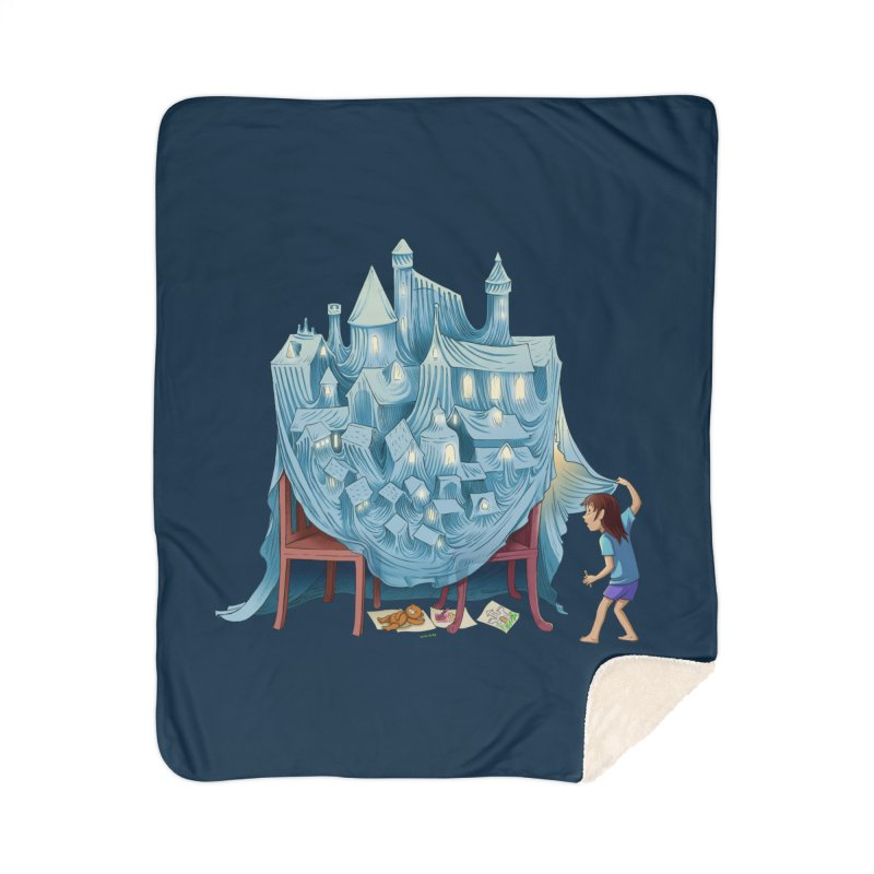 The Perfect Chair Fort Home Blanket by finkenstein's Artist Shop